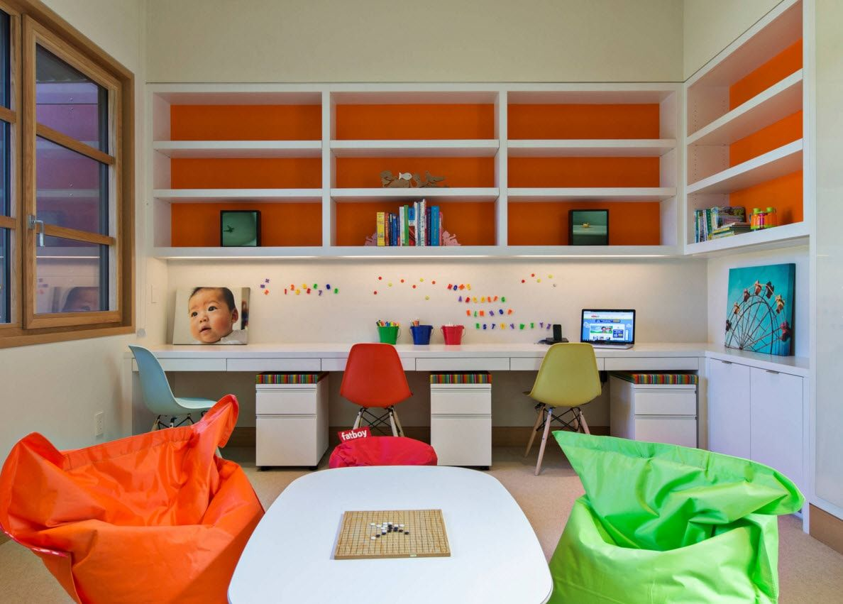 Boy's Room Design Ideas for every Age and Situation. Creative space for two boys