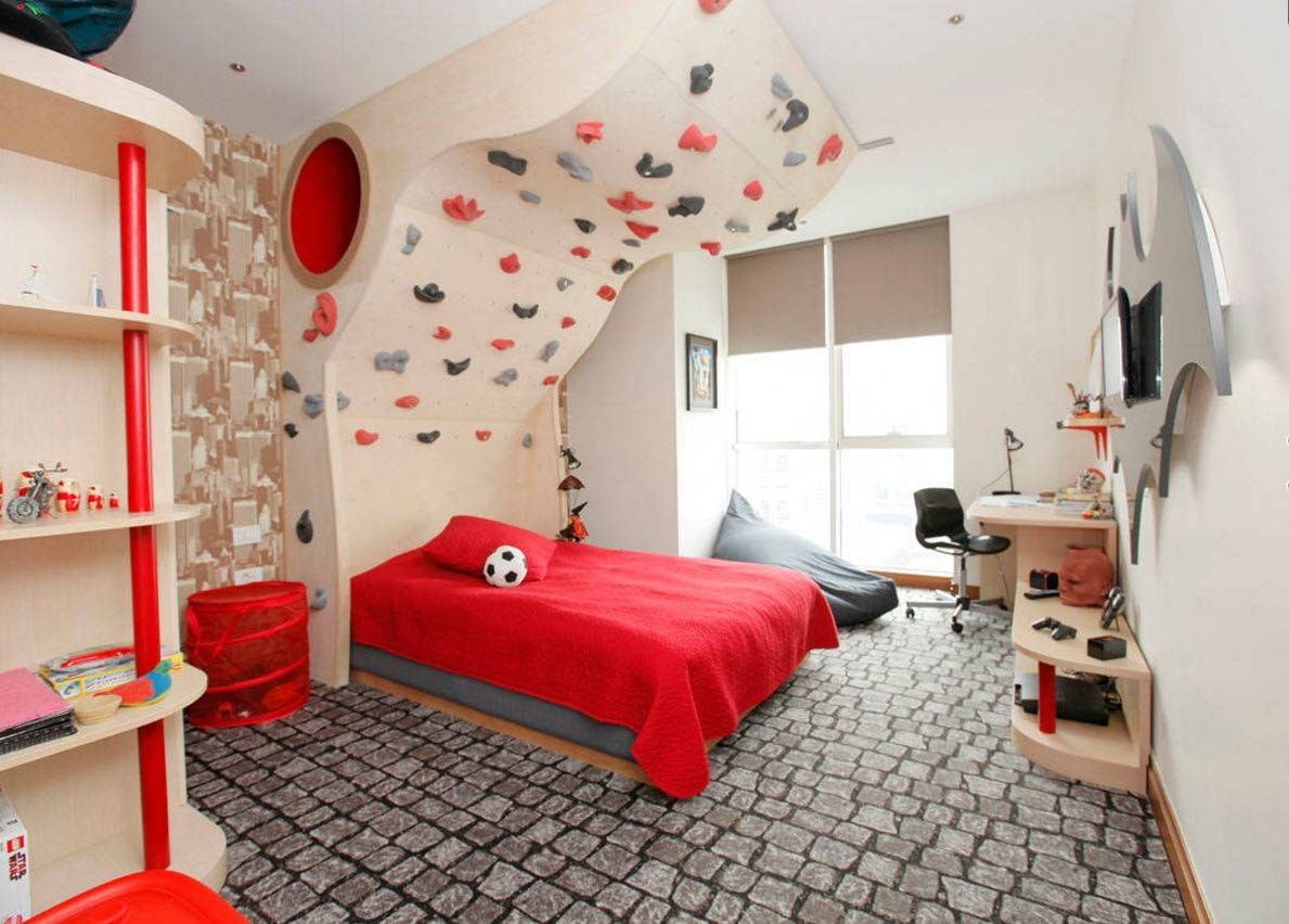 Boy's Room Design Ideas for every Age and Situation.  Fairy tale motifs in the room
