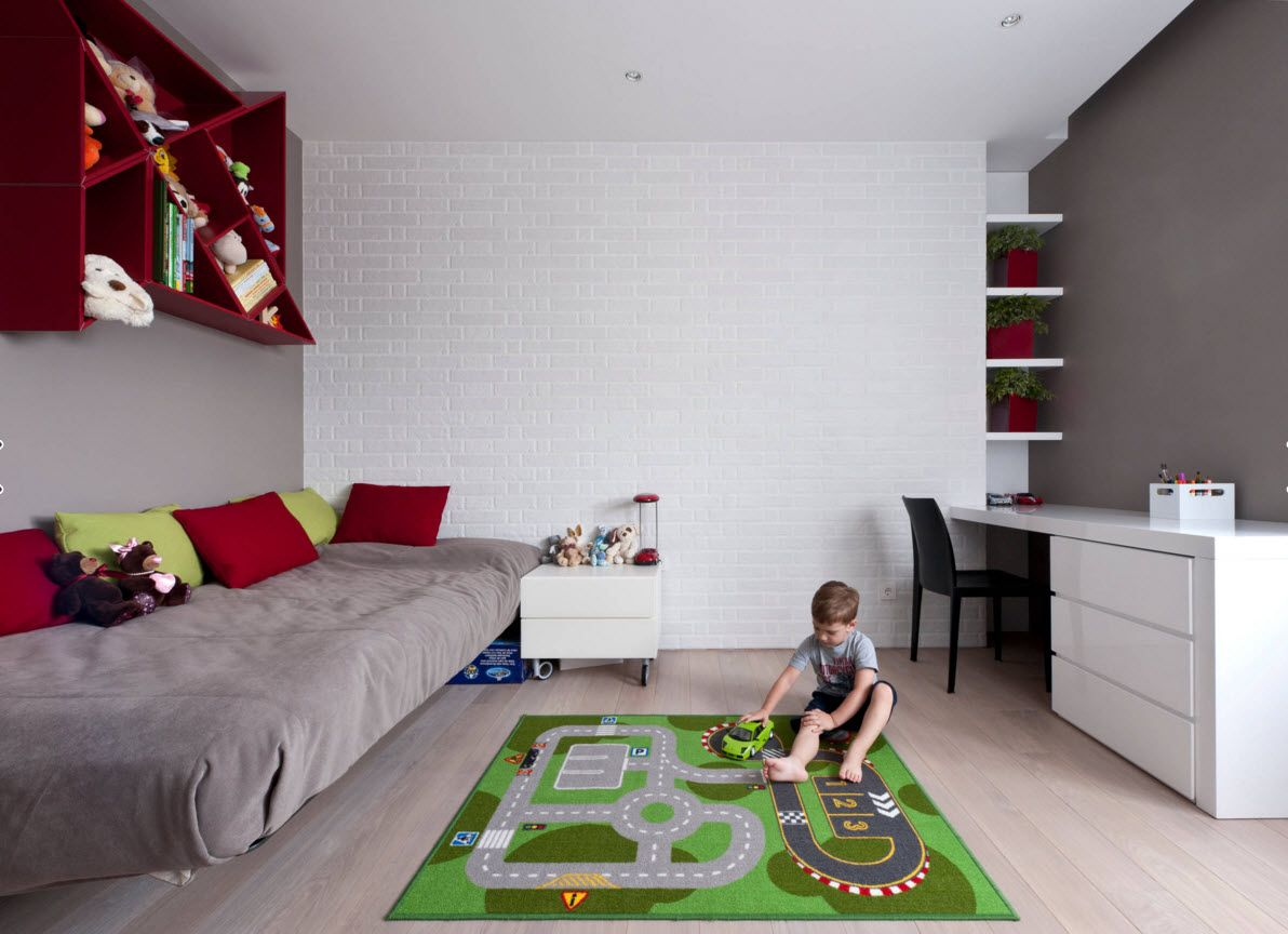 Boy's Room Design Ideas for every Age and Situation. Game is at the first place for little rascal