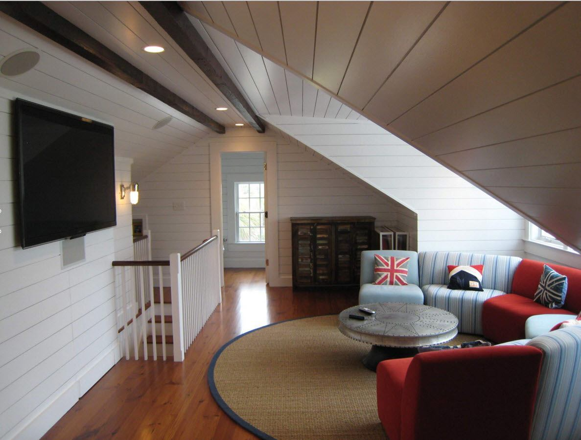 Medium Attic Living Room Design Modern Loft Living Room Design Ideas Small Design Ideas