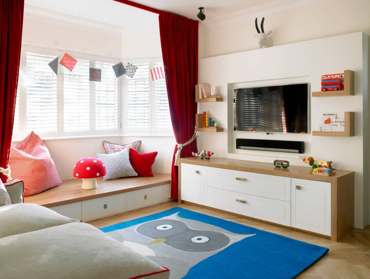 Boy's Room Design Ideas for every Age and Situation. Gorgeous solution to decorate the room with useful letters and information sheets