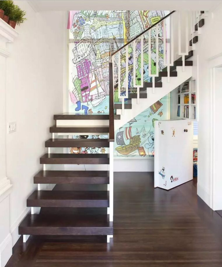 Secret Rooms with Hidden Doors Modern Design Ideas. Nice idea of hiding the secret space under the stairs