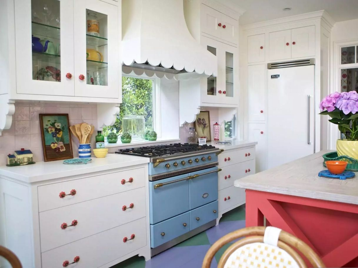 The Main Types of Kitchen Hoods. Photo Gallery and Description. Funny jouful design of the dome shaped hood