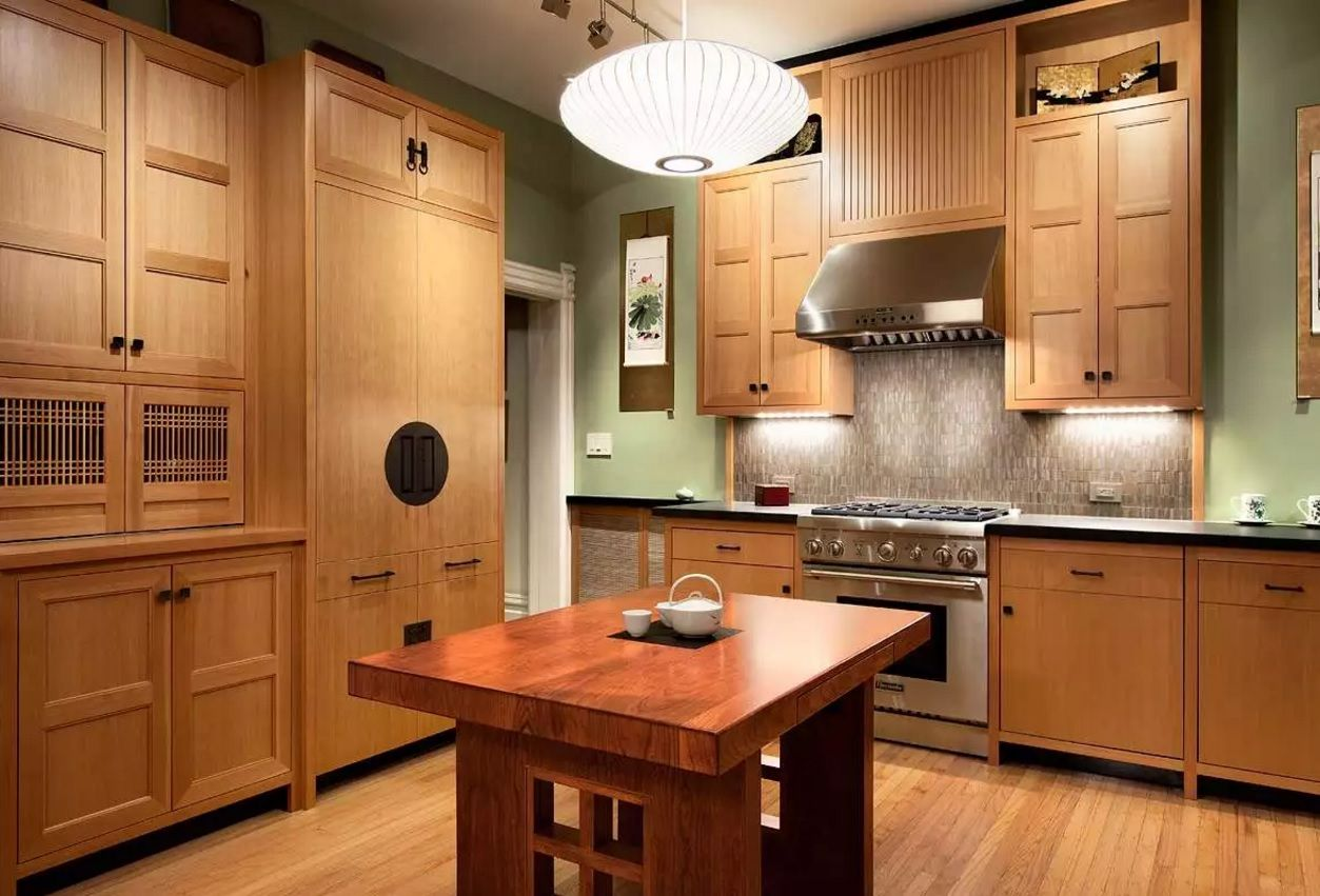 The Main Types of Kitchen Hoods. Photo Gallery and Description. Natural materials only to decorate the space