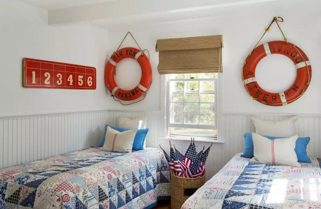 Small Bedroom Decoration Trends Photo. Marine styled bedroom for real young sailors