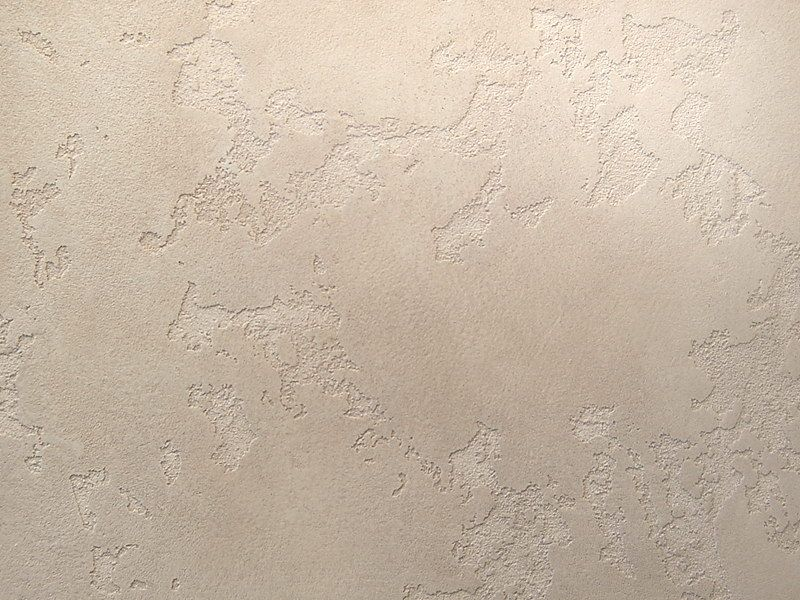 Mineral Plaster: Description, Applying Technique, Photos. Craters on your wall after the fininshing