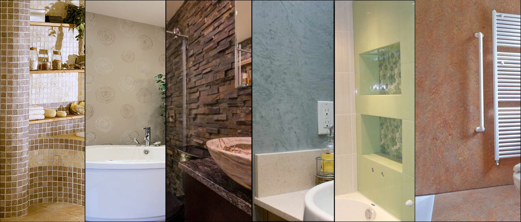 Top 7 popular materials wall finishing. Searching for a more suitable variant