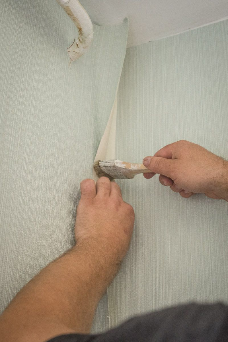How to DIY Wallpaper the Wall Correctly. Gluing the most hard accessible places
