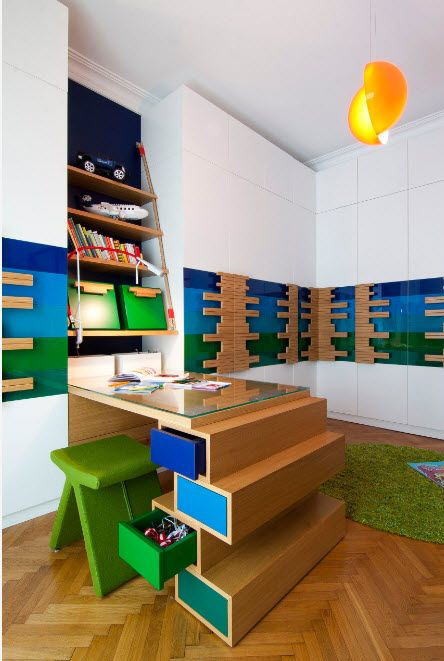 Ultra modern and creative design of the children's room
