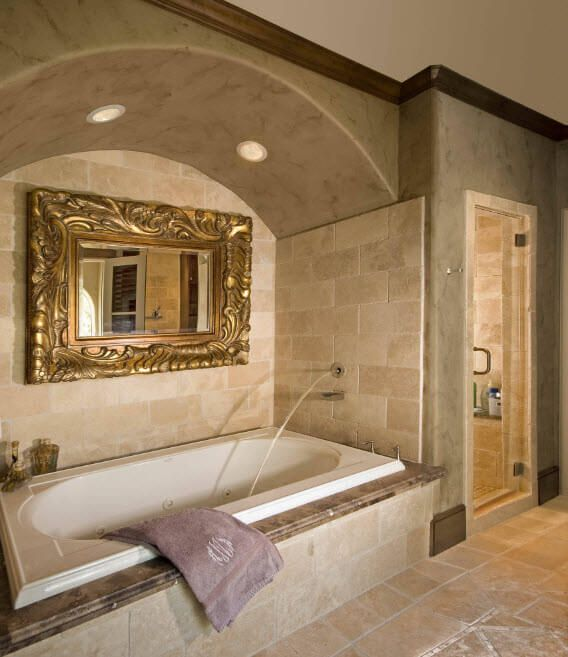 Jacuzzi bathtubs description photos design ideas Roman style bathroom designs