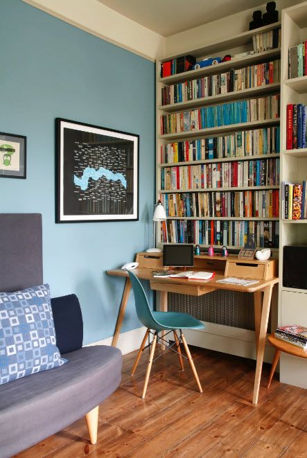 Child's Room Desks for Studies. Plenty of Design Ideas. Modern library for the real young bookworm