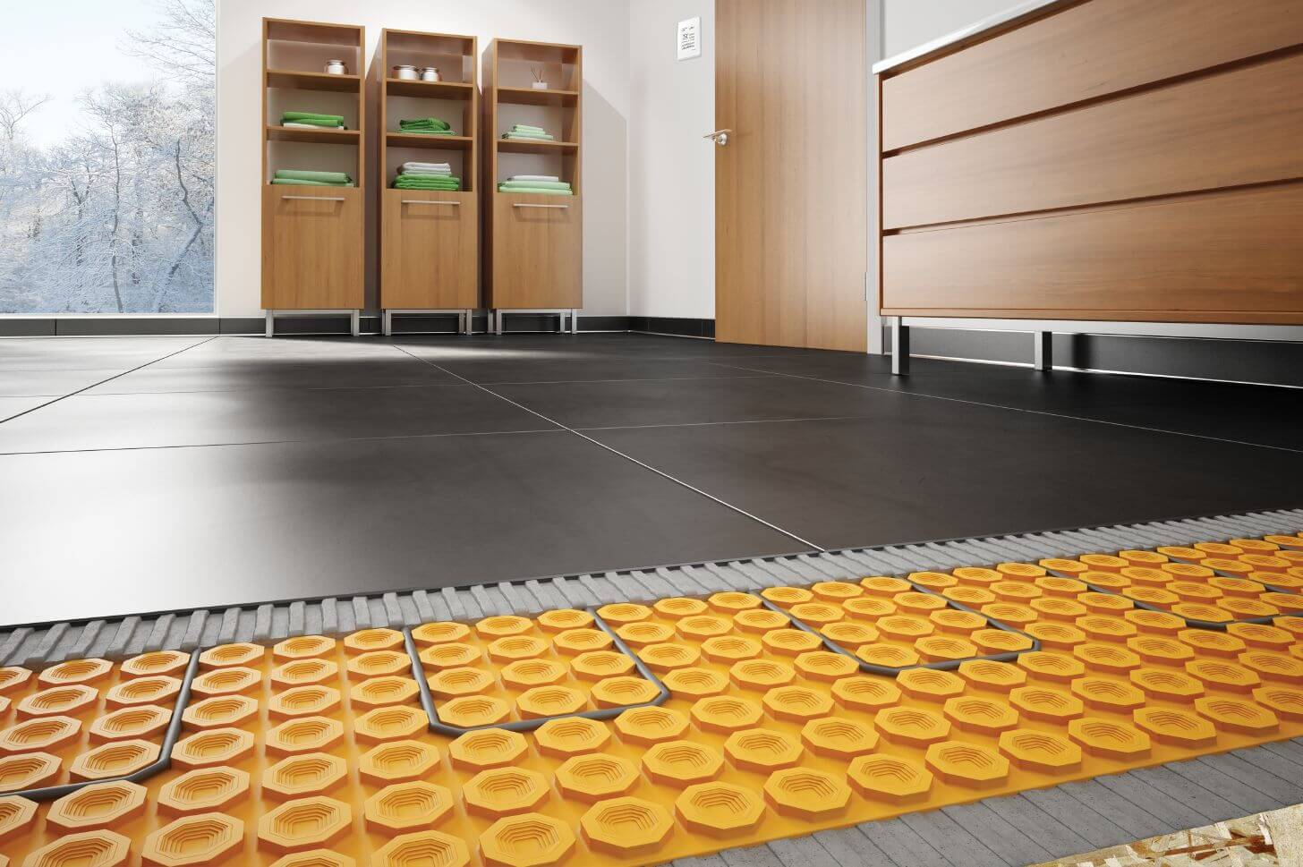 Warm Floor Modern Technology For Comfort Home