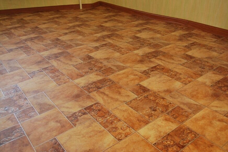 Linoleum Types Review, Description, Usage Advice. Laid right at the concrete floor