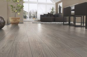 Laminate Floor Finishing Types, Description, Properties. Alder color of the flooring