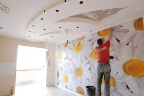 Making a renovation in a joyful modern style with non-woven wall covering