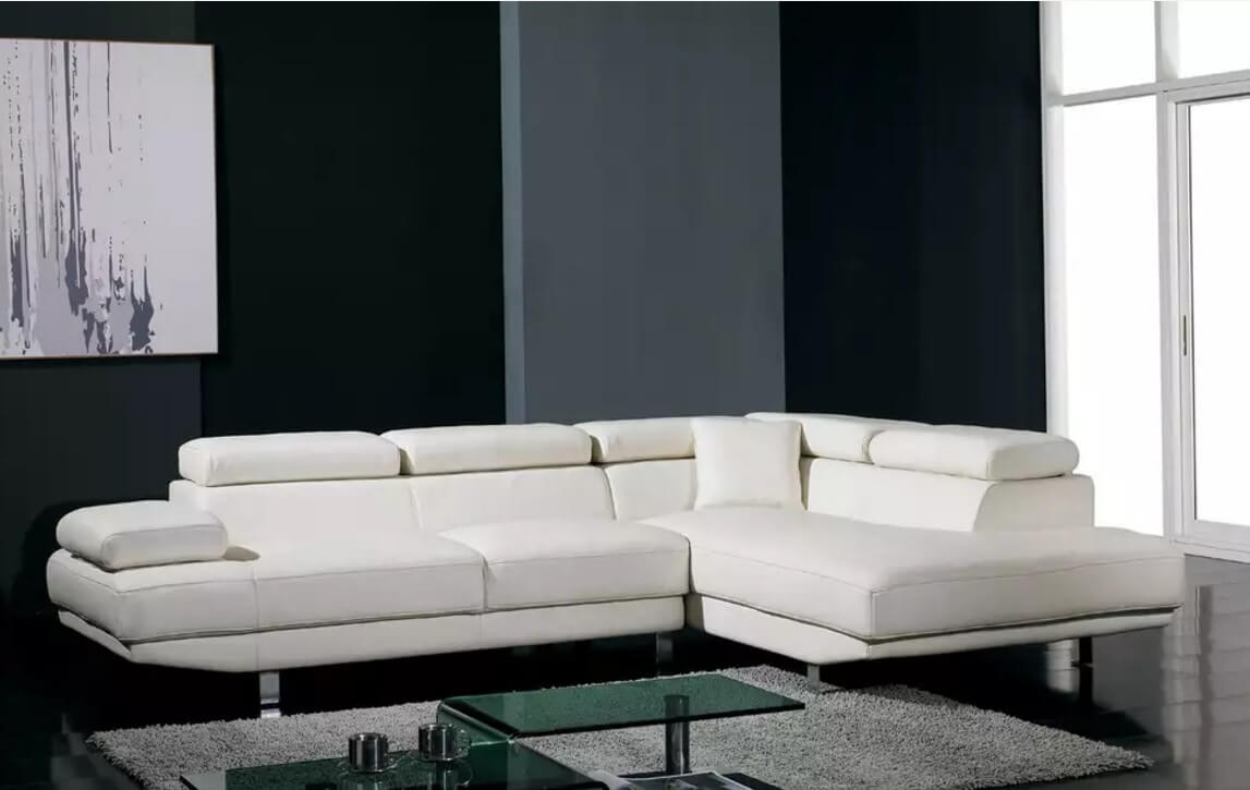 Leather Sectional Sofas to Complete your Living Room Image. Classic corner couch design