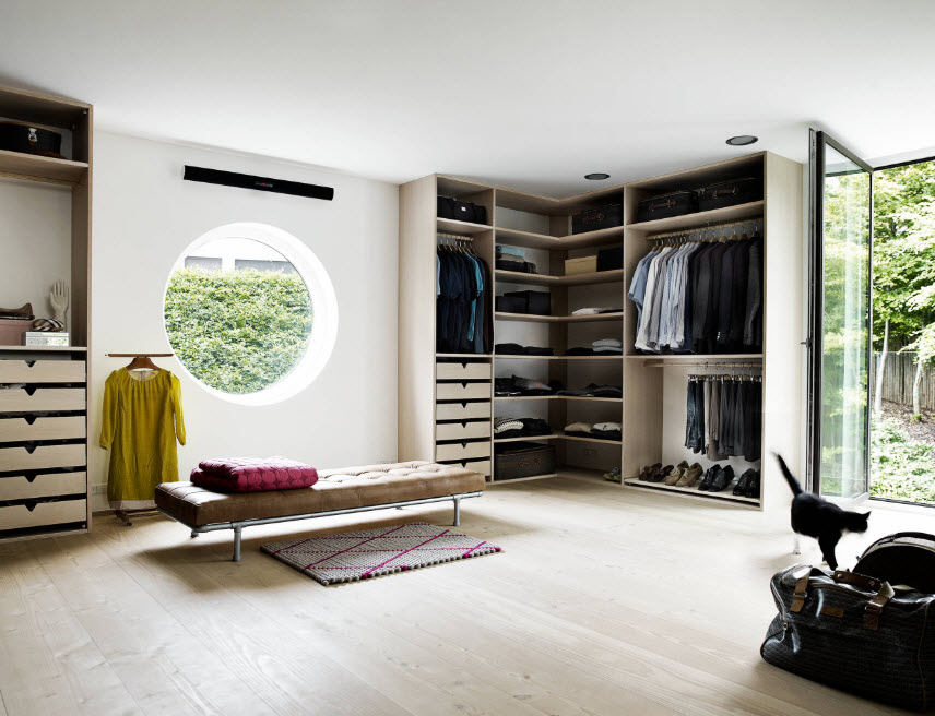 corner cabinet types for modern bedroom interior design scandinavian style in the spacious bedroom with