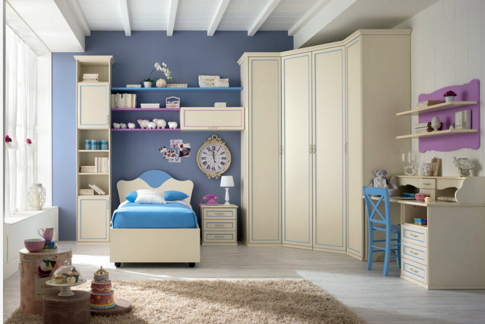 Corner Cabinet Types for Modern Bedroom Interior Design. Creative children's room decoration