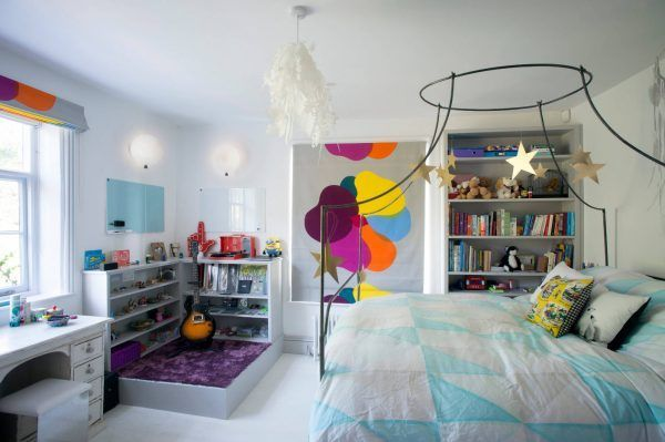 Pop-art interior for children 2017