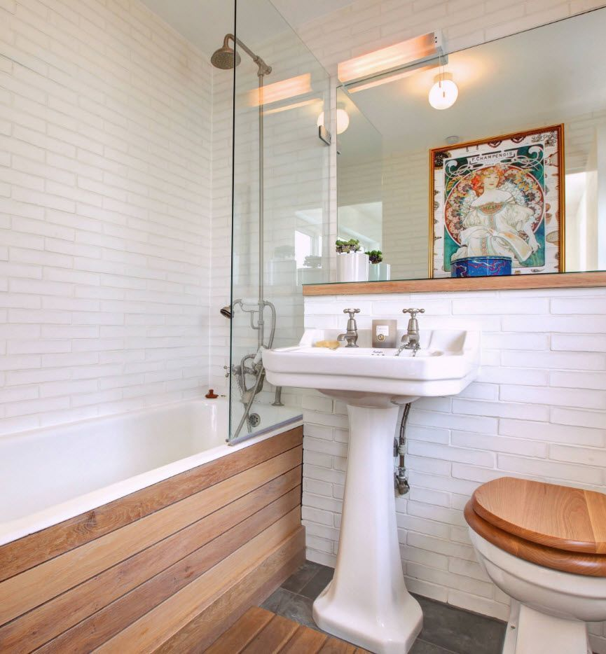 Small Bathroom Interior Space Optimization Ideas & Layout Photos ...