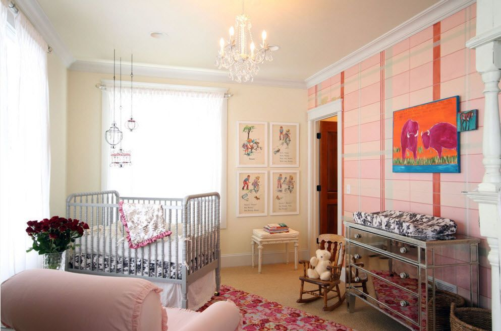 Pinky child's room