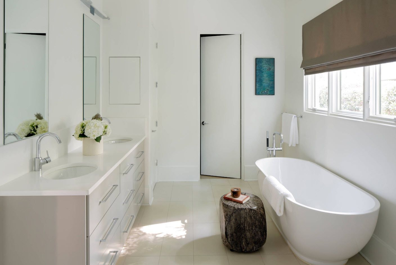 Spectacular Scandinavian style design for the bathroom 2017