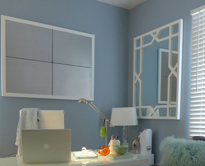 Mirror Interior Decoration. 50+ Design Ideas to Reflect Your Style. Turquoise color theme for the modern comfort place