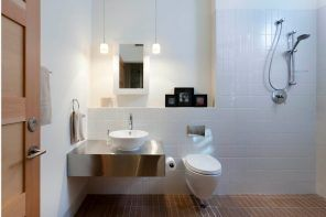Small Bathroom Interior Space Optimization Ideas & Layout Photos 2017