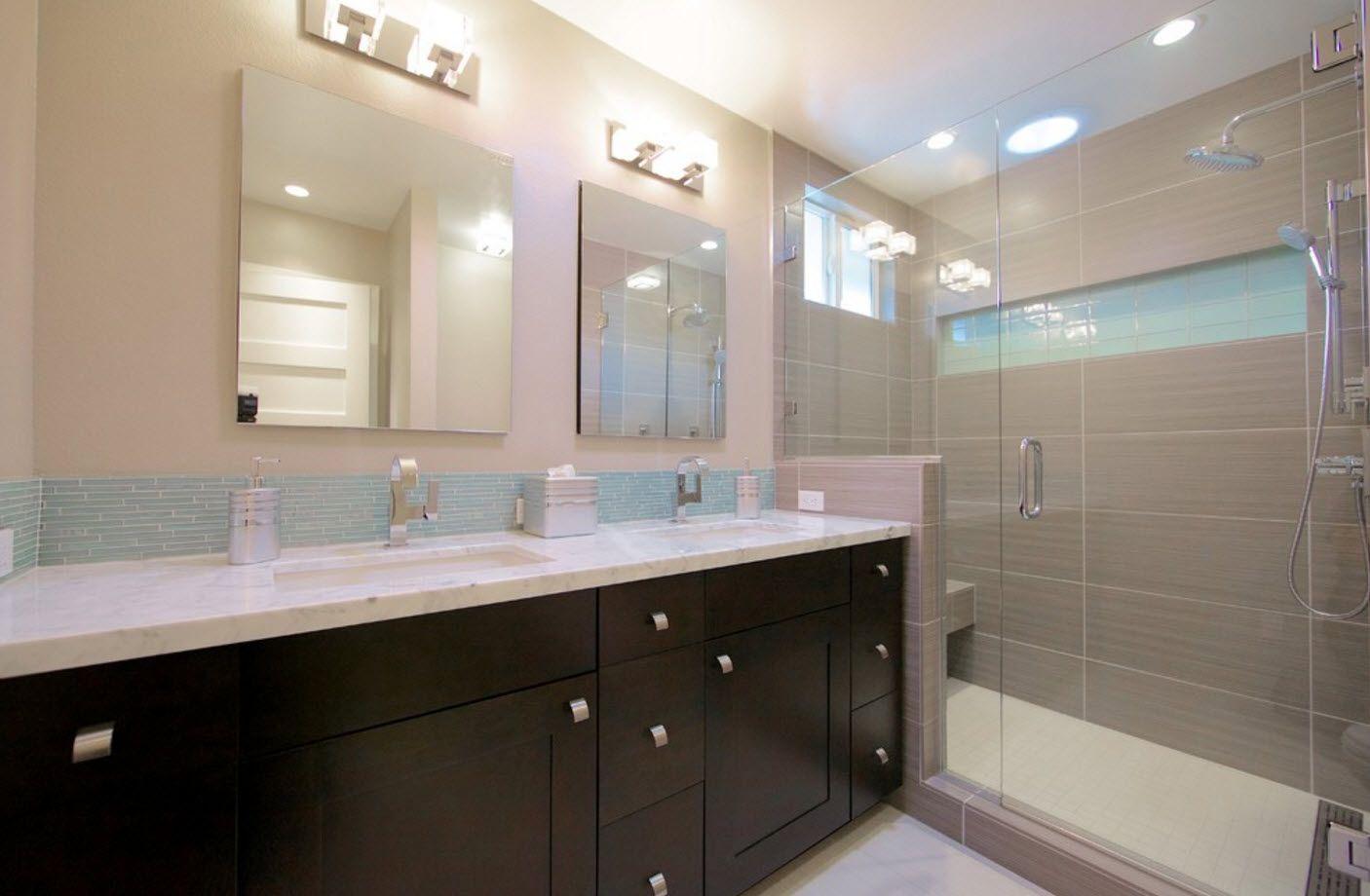 Bathroom Design Trends & Decoration Ideas 2017 - Small ...