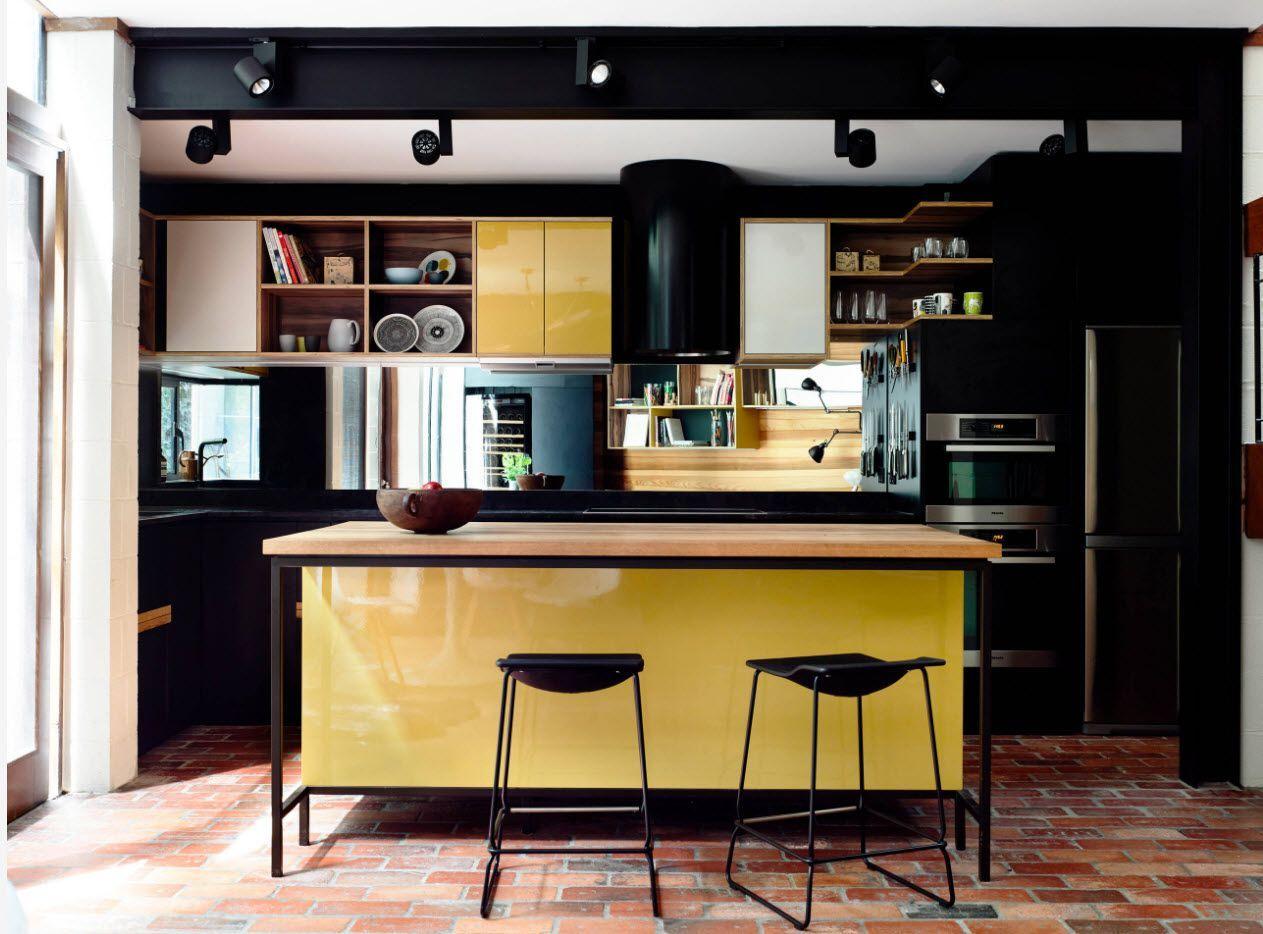 chick pop-art design for modern kitchen