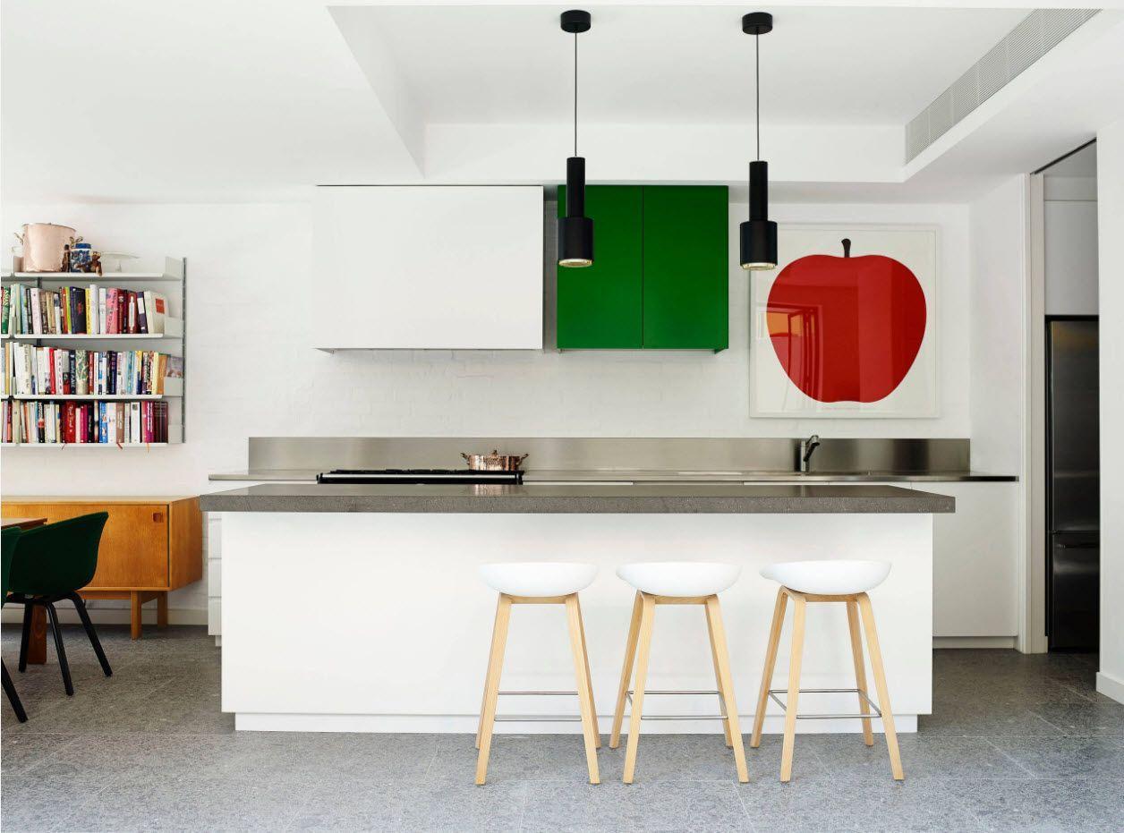 Fruit theme to revilatize the kitchen interior