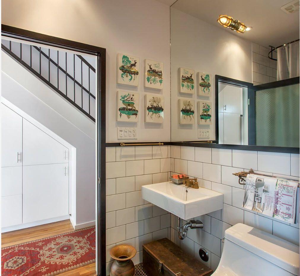 Small bathroom interior space optimization ideas layout - Bathroom ideas photo gallery small spaces ...