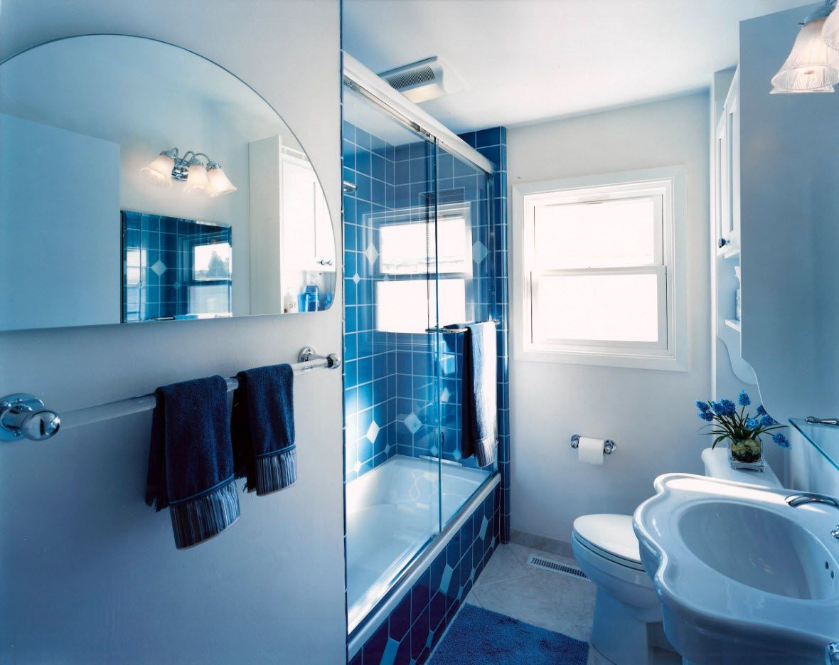 small bathroom interior space optimization ideas & layout photos