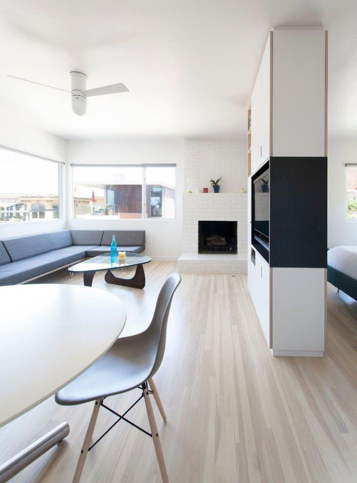 Modern decorating & zoning idea for living room interior 2017