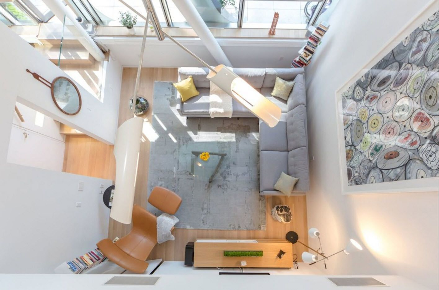 The Final Variation On Of Living Arrangement Is Studio Which Connected Also To A Kitchen With Dining Area In Addition Family Room