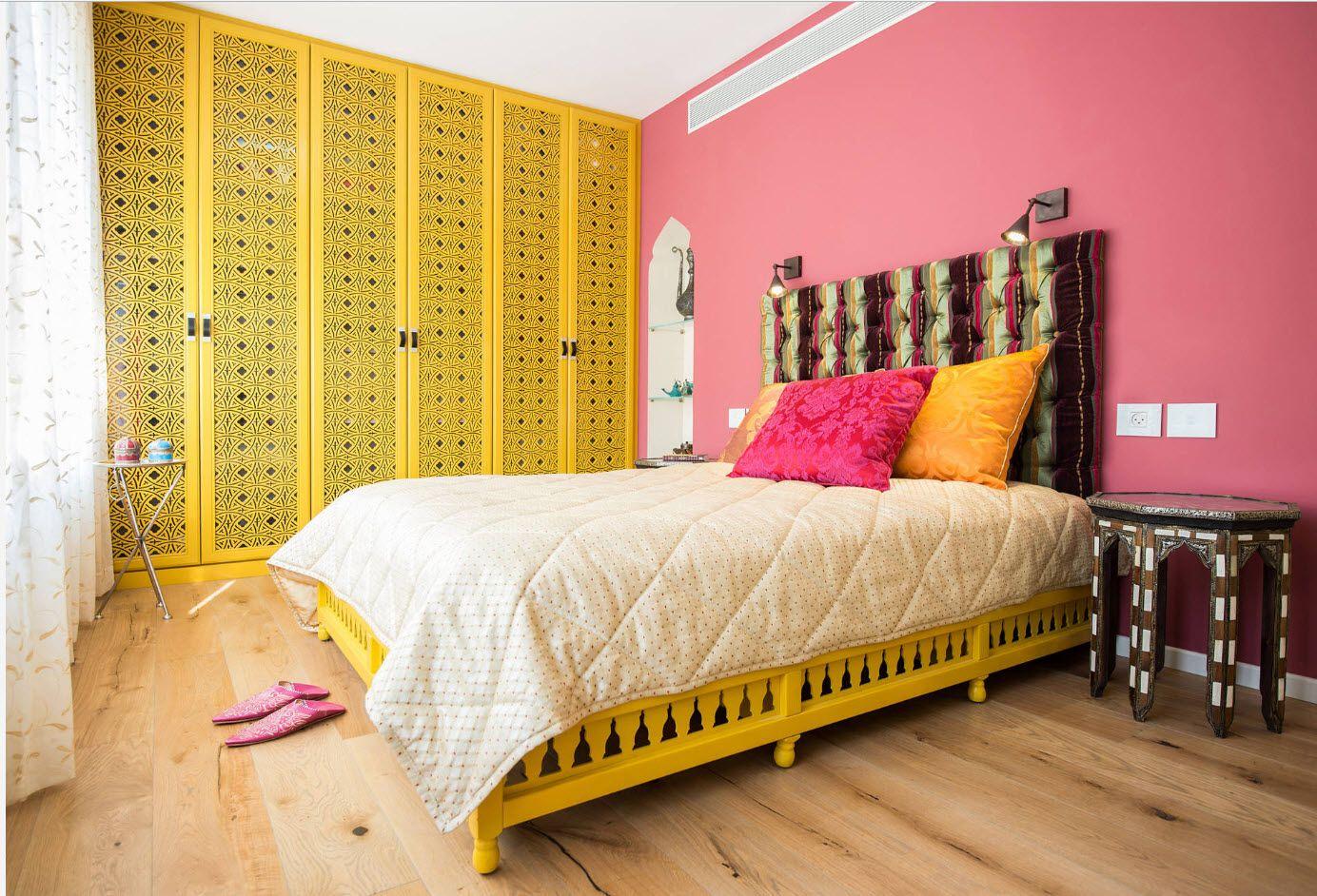 Modern Bedroom Interior Decoration & Design Ideas 2017. Pop-art color palette