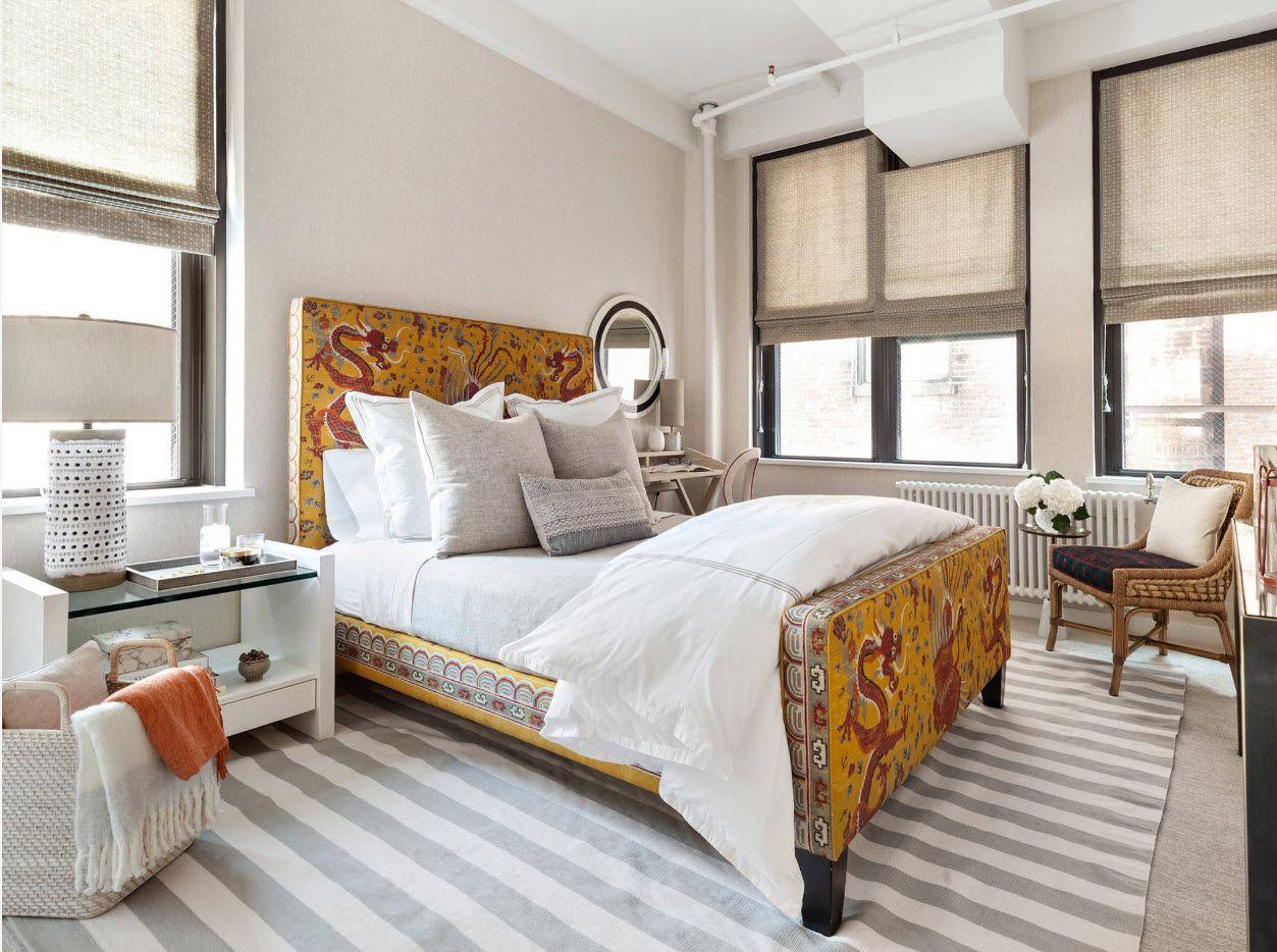 Modern Bedroom Interior Decoration & Design Ideas 2017. Shabby chic touch in the standard modern interior
