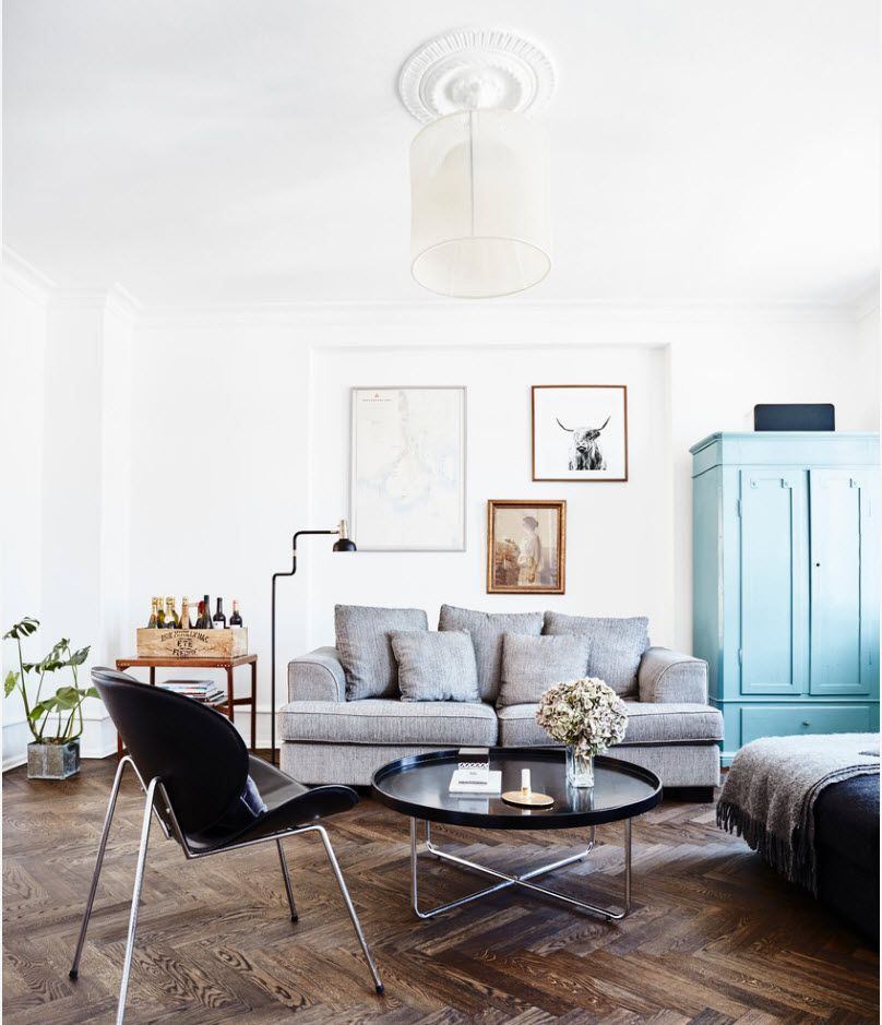 Sitting room 2017: Modern Novelties, Design Trends, Real Photo Examples in the retro style