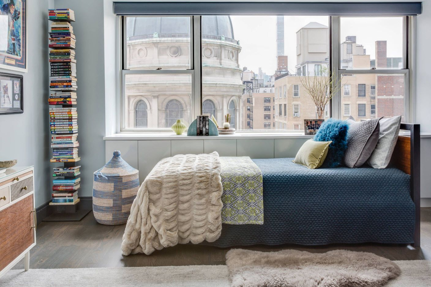 urban style for small bedroom