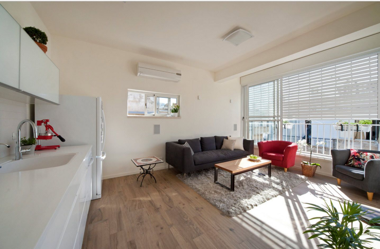 Modern large apartment design 2017