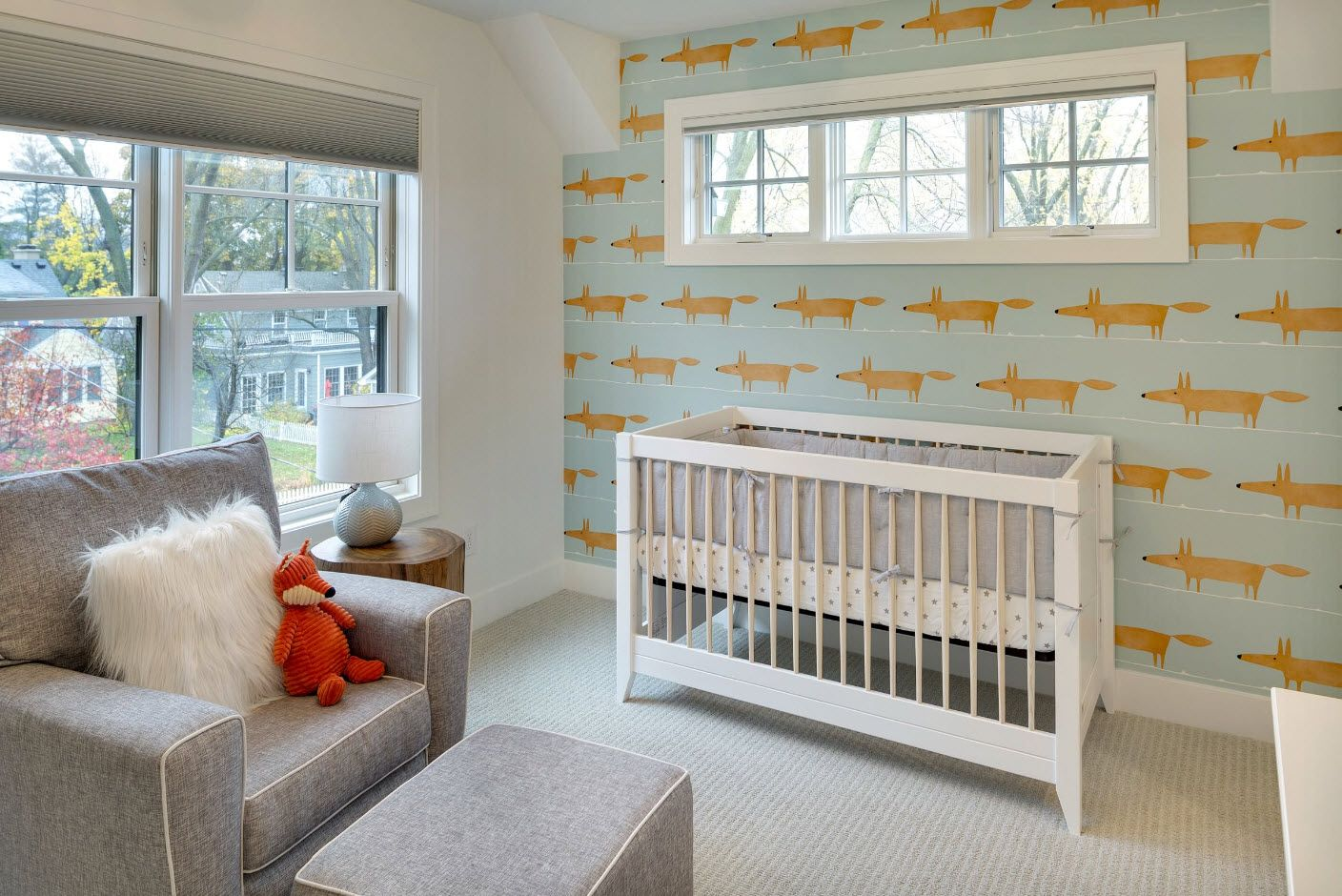 Animalistic theme for small kids' room