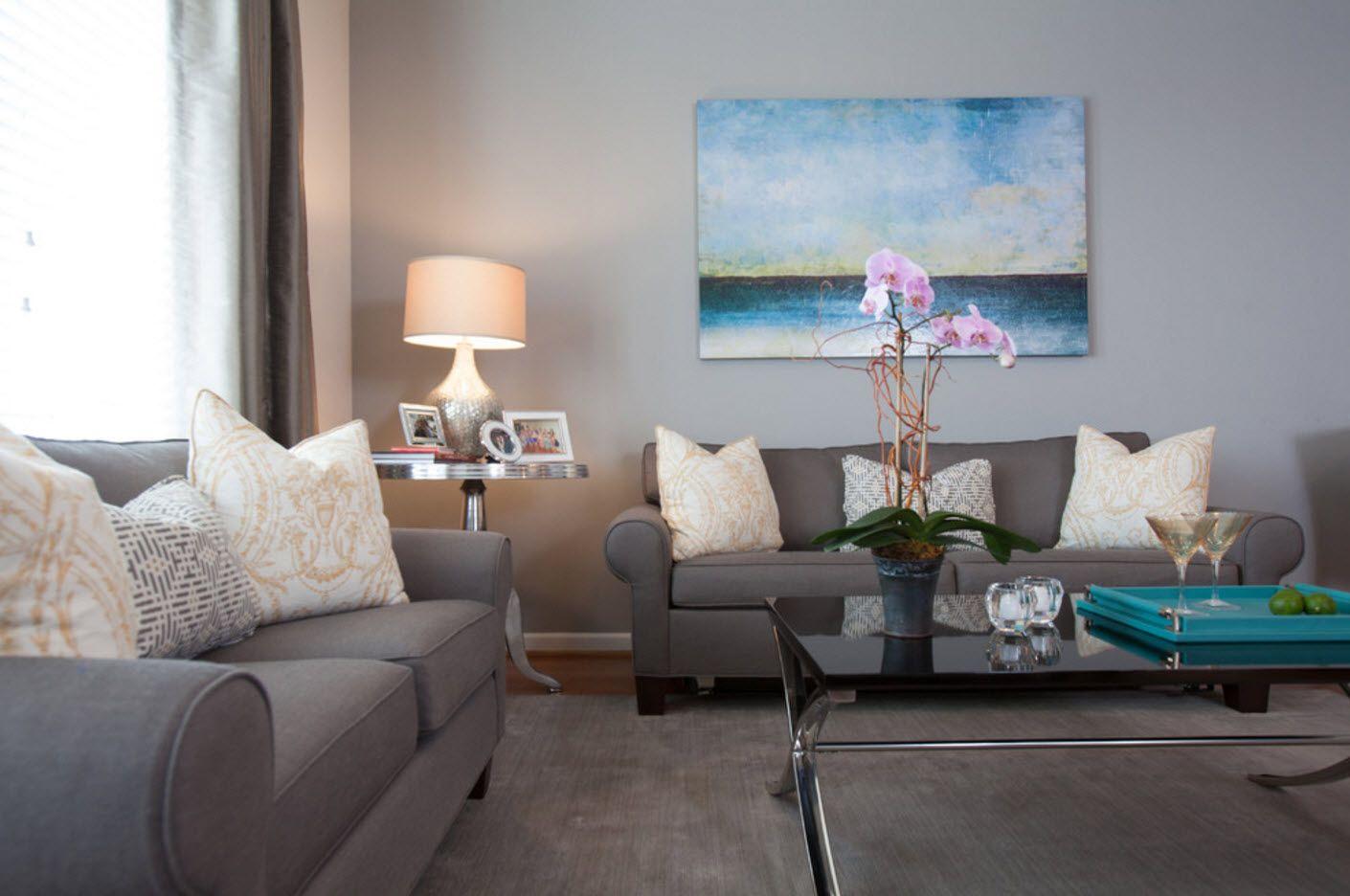 Apartment Interior Design Inspiration Ideas & Trends 2017. Gray classics