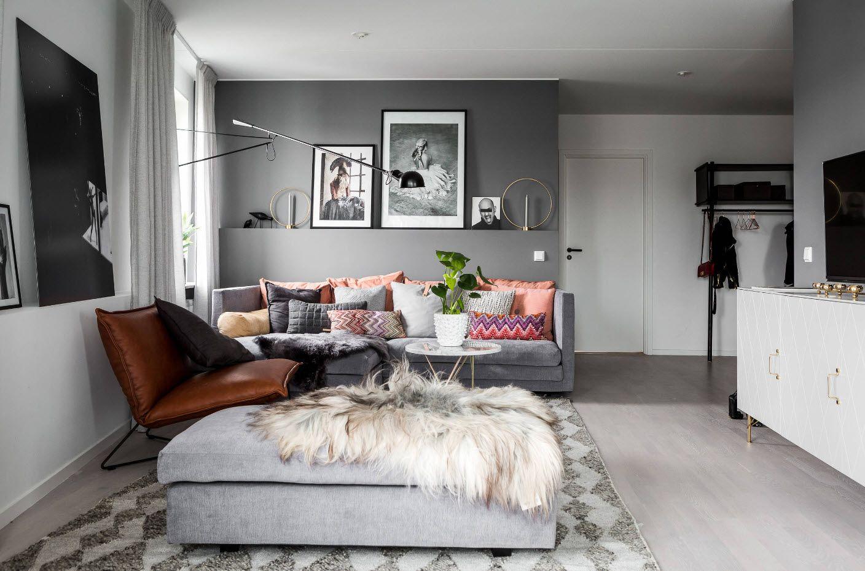 Modern gray Scandinavian interpretation