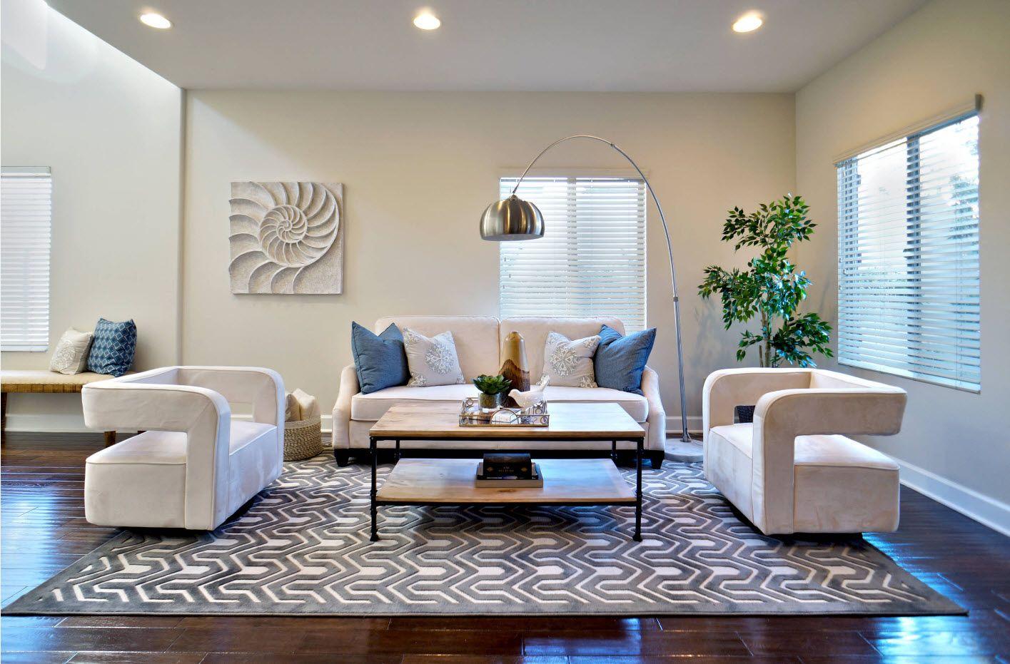 Cintemporary urban style for modern spacious living