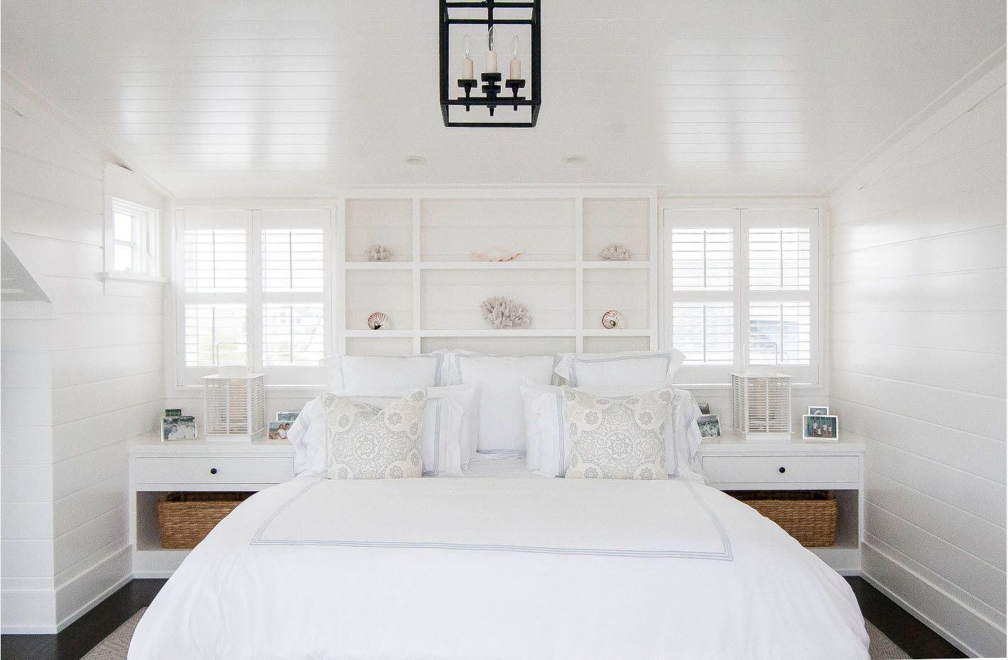Modern Bedroom Interior Decoration & Design Ideas 2017. Absolutely white idyll