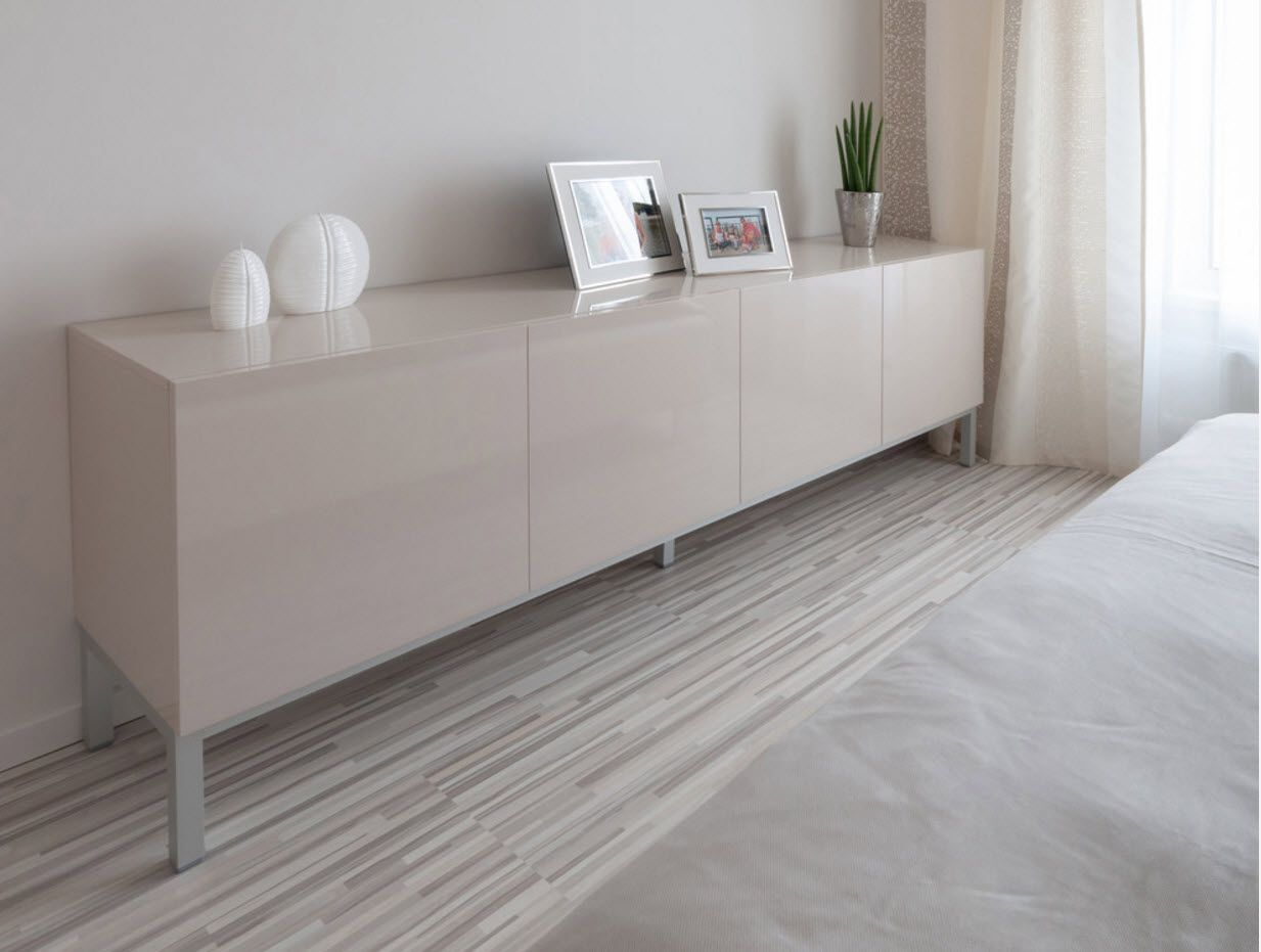 Gorgeous modular furniture set for the gray colored room