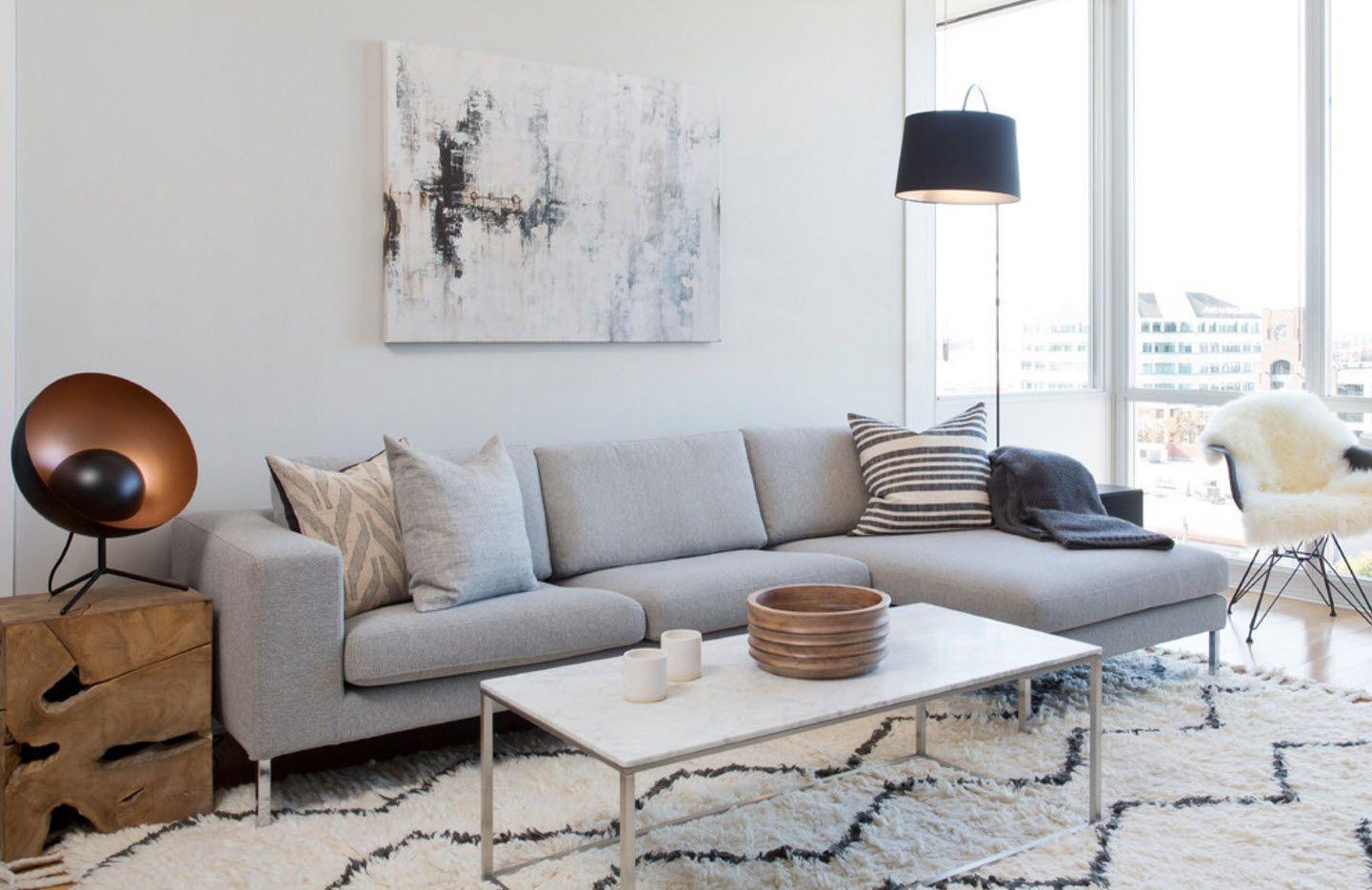 Gray color theme for modern fresh light design