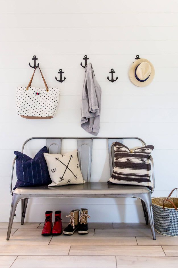 Nice Marine style hint with hangers in the form of anchors