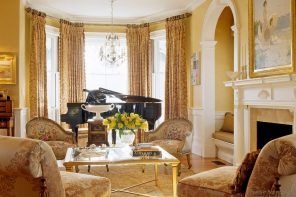 Victorian Interior Design Style. Description, History, Examples and Photos: English typical living room royal decoration