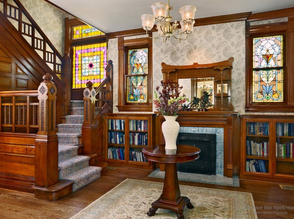 Victorian Interior Design Style. Description, History, Examples and Photos: Library first of all
